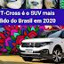 O SUV mais desejado e Mais vendido em 2020. T-Cross