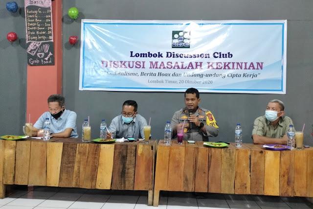 LDC gelar diskusi publik, bahas tuntas 3 isu kekinian