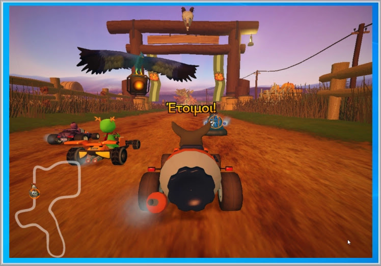 SuperTuxKart  :  3D παιχνίδι αγώνων με χαρακτήρες καρτούν