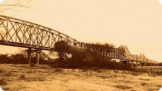 Antiga Ponte Ferroviária de Cacequi - Ponte do Entroncamento.