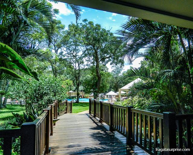 Piscina do Hotel San Martin Resort & Spa, em Foz do Iguaçu