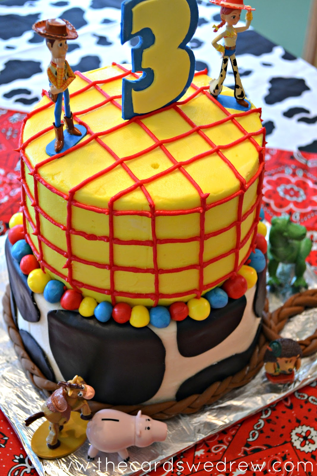 Toy Story Cracked Magazine: My Son's Toy Story Birthday Party