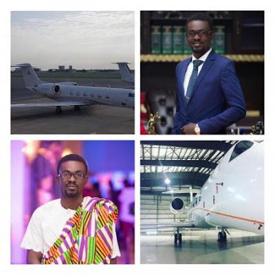 OMG!!  Zylofon Media & Menzgold CEO, Nana Appiah Mensah Buys Private Jet