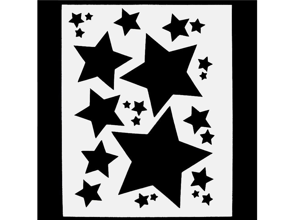 Sj aerografias plantillas estrellas - Plantillas para la pared ...