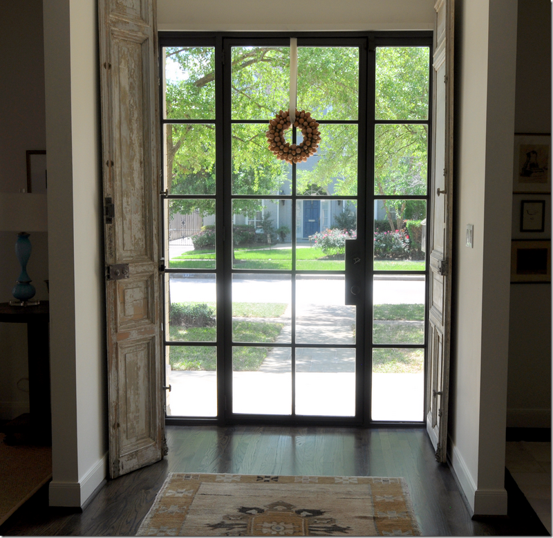 Windows For Front Doors: Window Treatments Not Included: Steel Windows And Doors