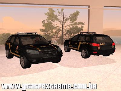 GTASA Hyundai Santa Fe Policia Federal para GTA San Andreas