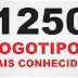 1250 Logotipos Mais Famosos Vetor
