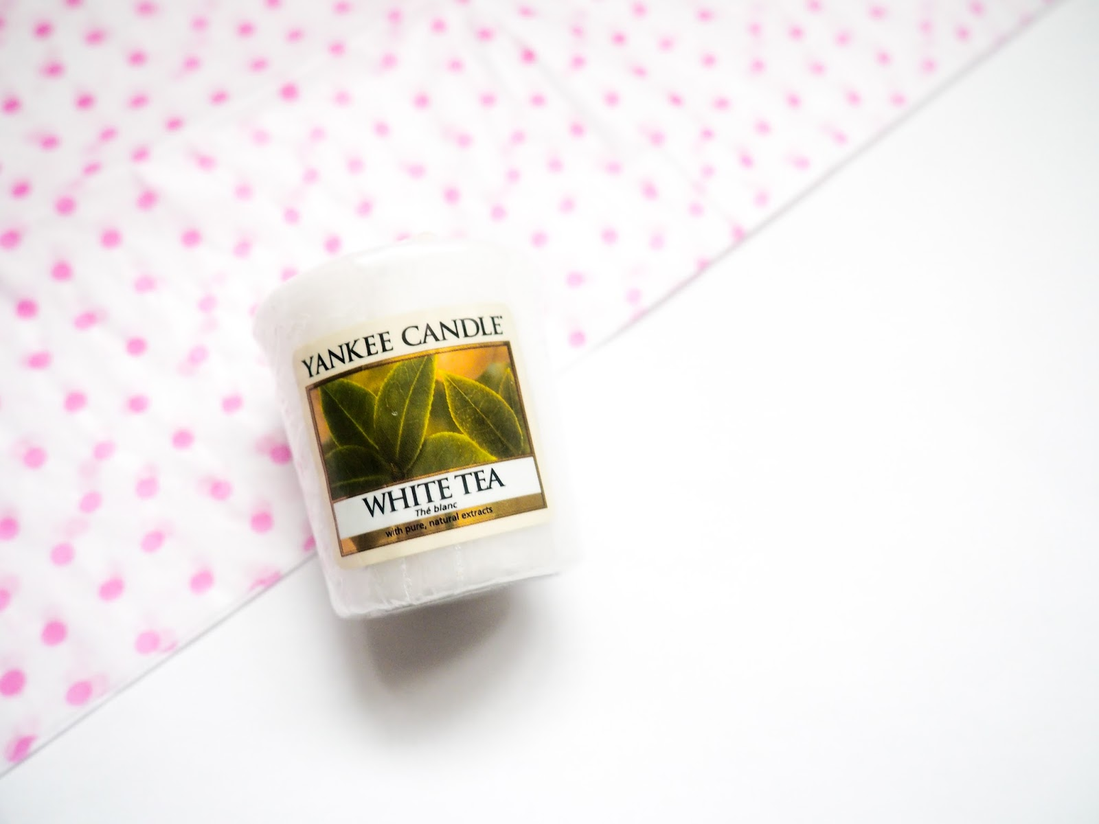 Yankee Candle White Tea Votive