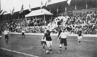 Stockholm Olympics 1912 final - Football history