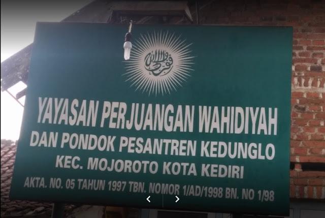 Yayasan Perjuangan Wahidiyah dan Pondok Pesantren Kedunglo Kediri