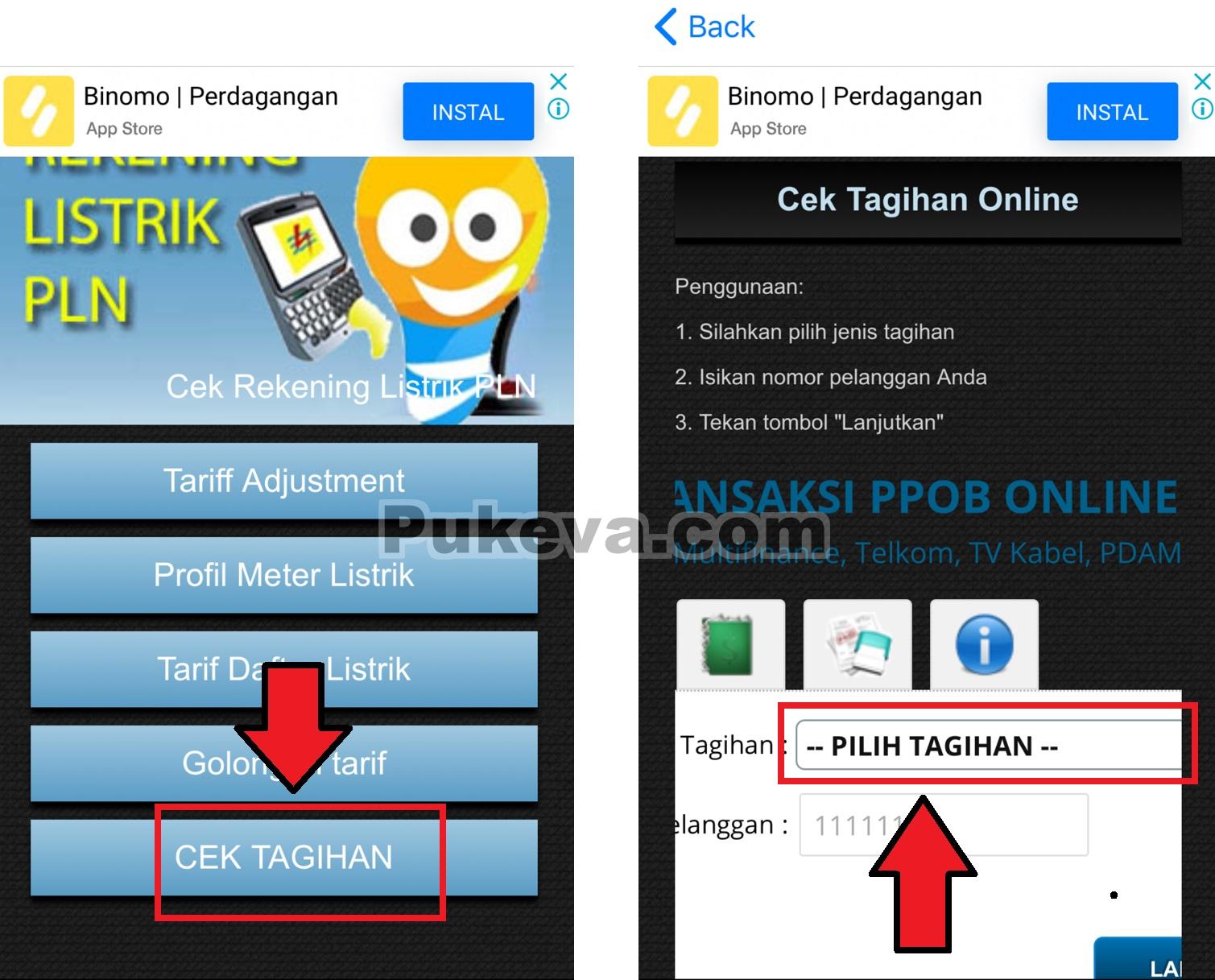 Cara Cek Tagihan Listrik Pln Online Menggunakan Aplikasi Di Android Ios Pukeva