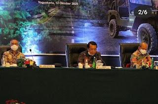 Pengadilan Tinggi Agama Palembang Menghadiri Pembinaan Teknis dan Administrasi Yudisial di Yogyakarta secara Virtual