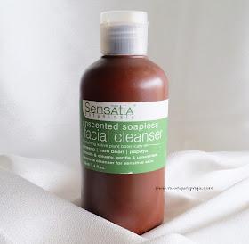 Sensatia Botanicals Unscented Soapless Facial Cleanser