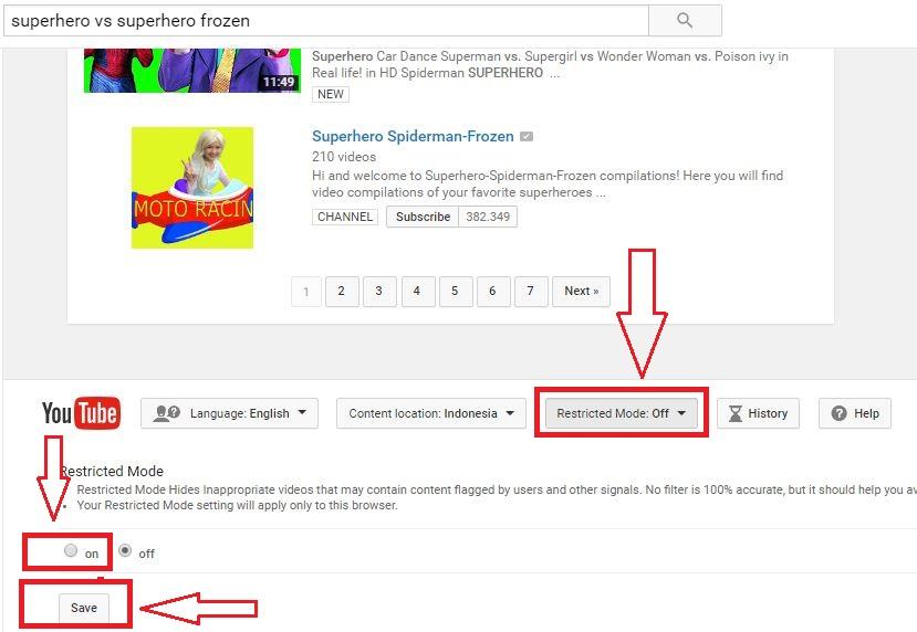 Ingin Tahu Bagaimana Blokir Video Youtube Yang Tidak Pantas Untuk Anak Baca Yuk Review Product