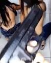 DF: Vídeo mostra arma e meninas seminuas dançando  em banheiro de escola