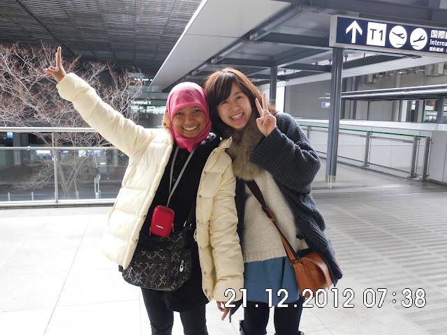 Sachiko di Kansai (KIX) Osaka
