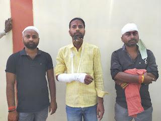 जमीनी विवाद को लेकर दबंगो ने अधिवक्ता समेत पुरे परिवार पर किया हमला