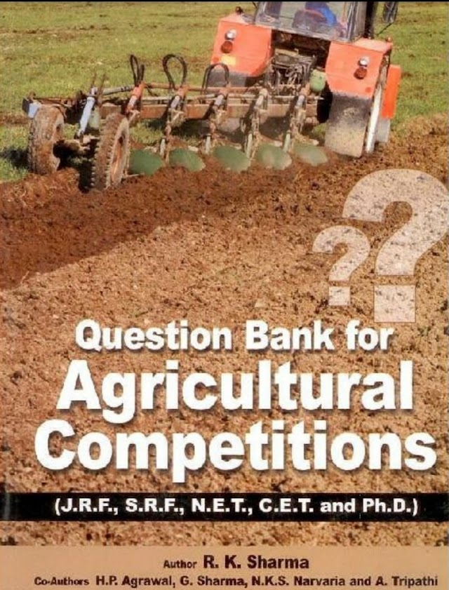 Question Bank for Agricultural Competitions free pdf books