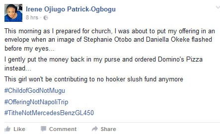 Offering money wahala: See what this lady did in church today