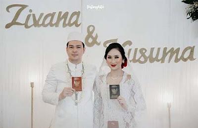 Anna Zivana dan Suami