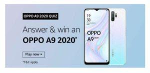 amazon oppo a9 quiz
