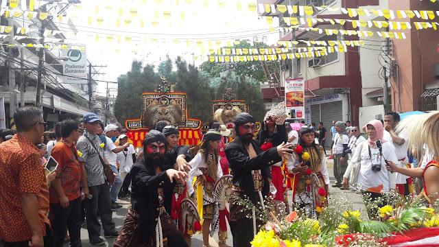 Festival Kadayawan, Reog Ponorogo Sukses Hibur  Warga Davao, Filipina