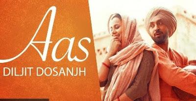 Aas Lyrics - Diljit Dosanjh