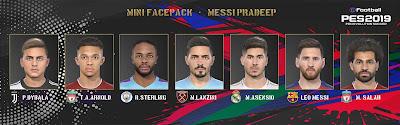 PES 2019 Minifacepack by Messi Pradeep