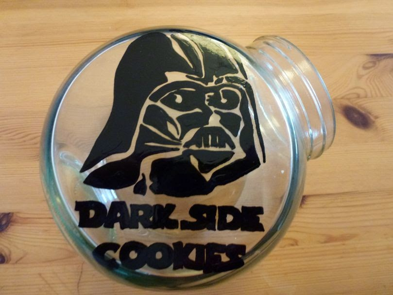 Dark Side Cookie Jar