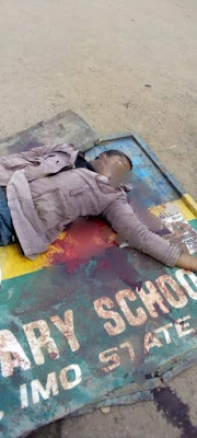 PHOTOS: Police Officer Shot An Okada Rider Dead For Not Wearing Face Mask