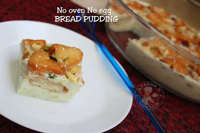 BREAD pudding no oven no egg bread pudding easy simple tasty bread desserts caramel bread pudding iftar ramadan recips ayeshas kitchen desserts recipes