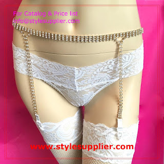 bridal garter belts