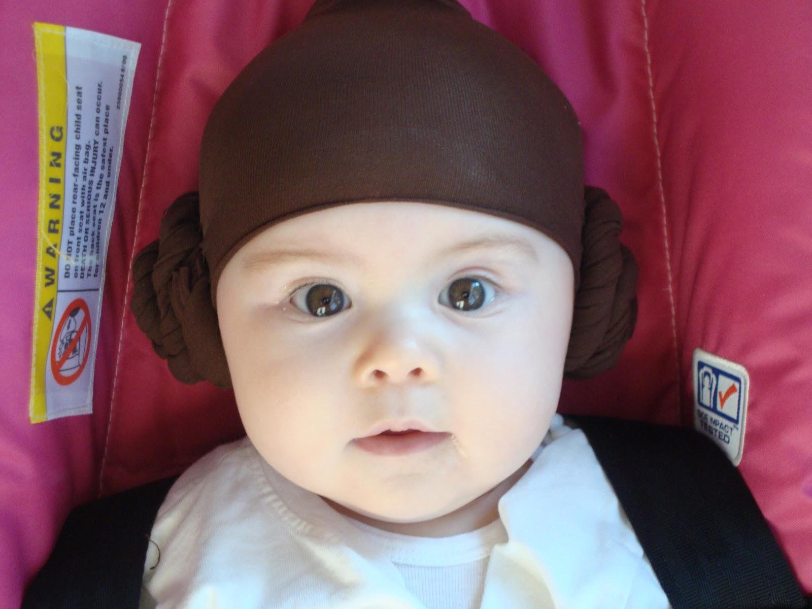 sc 1 st  Hollow Tree Ventures & Halloween Costume - baby Princess Leia