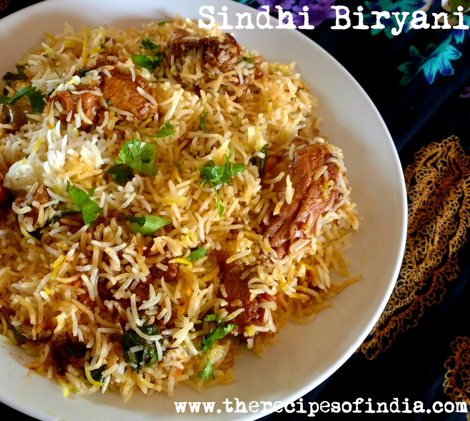 Indian food recipes indian recipes desi food desi recipes sindhi biryani is a flavorful biryani consisting of the aroma and flavor of fresh mint leaves coriander leaves green chillies and tomatoes forumfinder Image collections