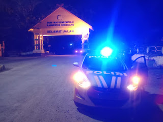 Jelang Idul Adha, Polsek Enrekang Tingkatkan Intensitas Patroli malam hari