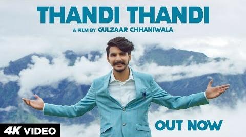 Thandi Thandi Song Lyrics- Gulzaar Chhaniwala | Gulzaar Chhaniwala New Haryanvi Song