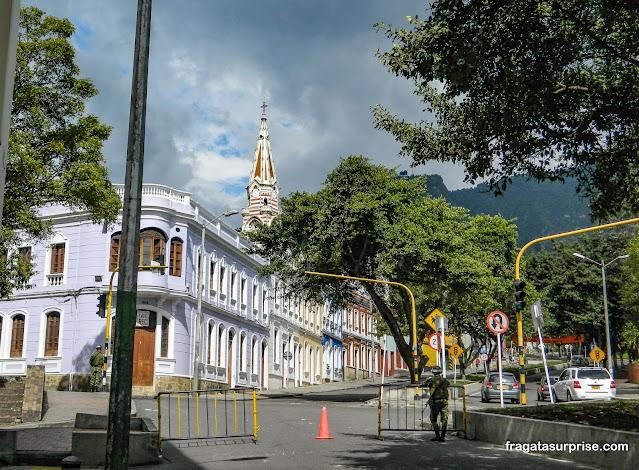Segurança em La Candelaria, Bogotá