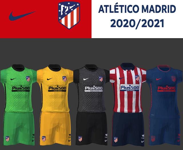 Pes 2013 New Atletico Madrid 2020 2021 Kits Kazemario Evolution
