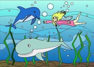 dongeng anak lumba-lumba penolong