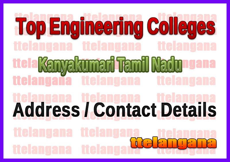 Top Engineering Colleges in Kanyakumari Tamil Nadu