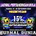 Jadwal Pertandingan Sepakbola Hari Ini, Kamis Tgl 17 - 18 September 2020