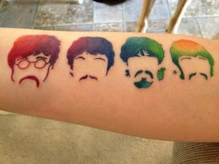 foto 22 de tattoos inspirados en grandes bandas
