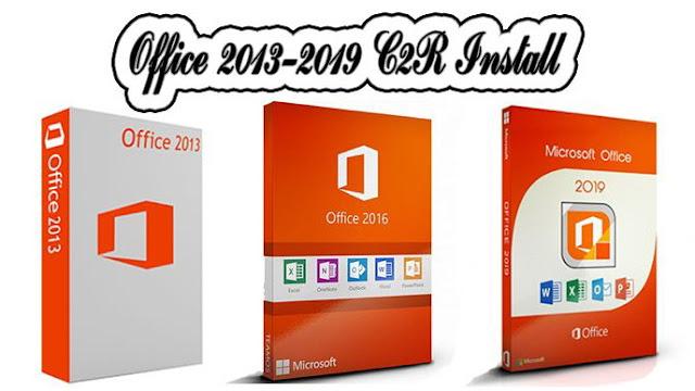 تحميل اداة تحميل وتثبيت وتفعيل الأوفيس Office 2013-2019 C2R Install Lite
