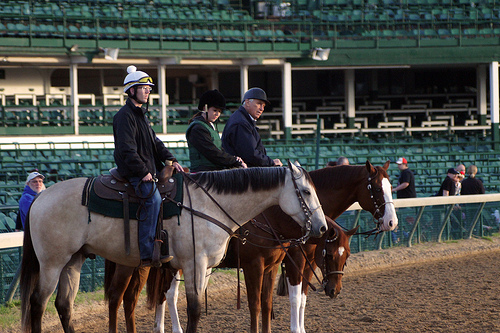 D. Wayne Lukas, Oxbow trainer