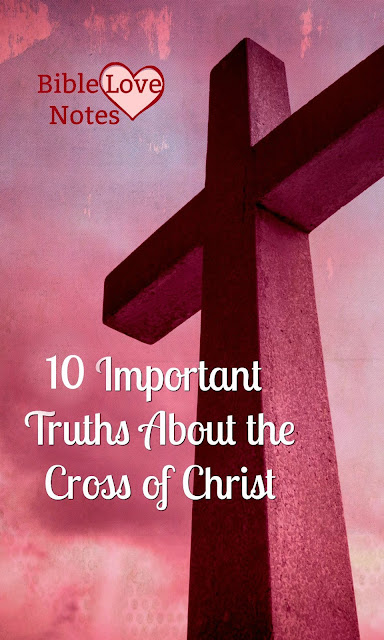 It's vitally important that we understand the purpose of God in the Cross of Christ, especially when so many false teachings abound.