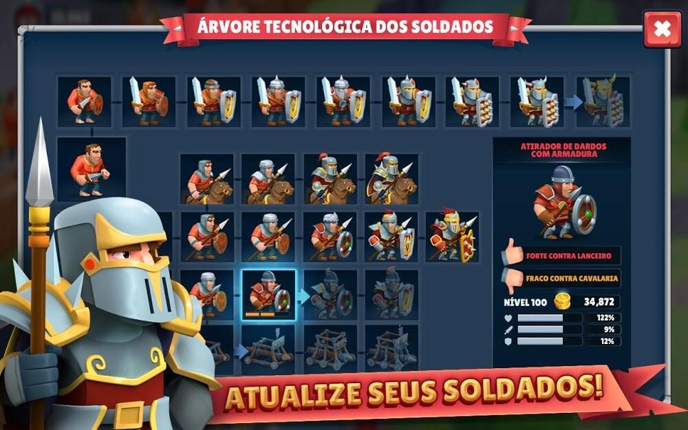 Game of Warriors MOD Dinheiro Infinito 1.4.6