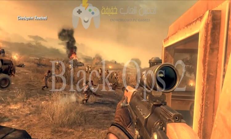 تحميل جميع اجزاء لعبة Call of Duty من ميديا فاير بحجم صغير