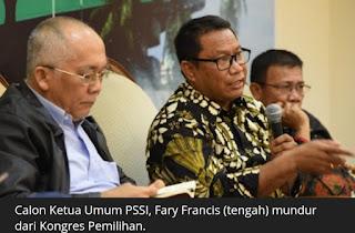 Kongres PSSI Dianggap Tidak Transparan, Enam Calon Ketua PSSI Mundur
