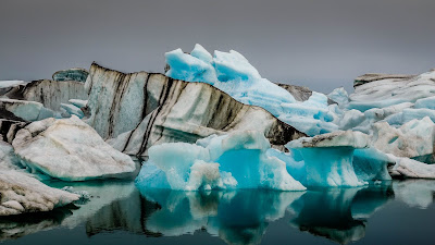 Iceberg Arctic Landscape HD wallpaper