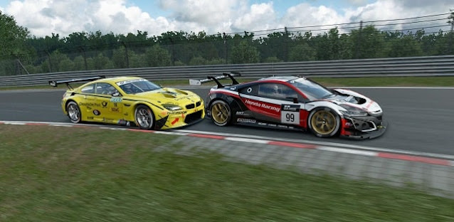 future of dtm racing electric car race honda